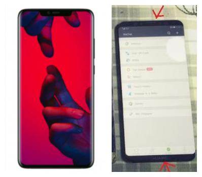 华为Mate 20最新渲染图 水滴屏+奇葩设计后置三摄