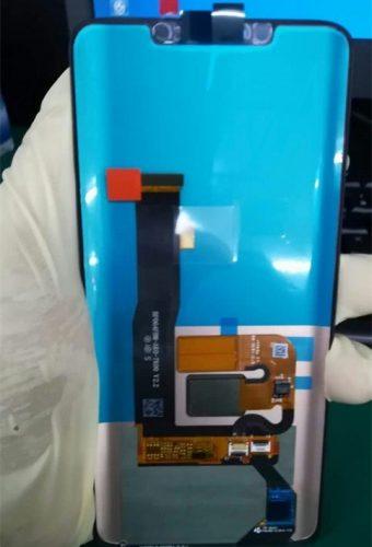 华为Mate 20屏幕面板照流出 曲面屏+刘海 支持3D结构光