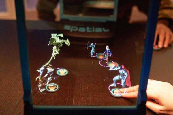 "AR增强现实游戏设备""Spatial MRX""开启众筹 桌上打怪了解下?"