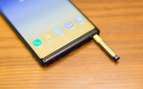 「锋潮评测室」三星Galaxy Note 9体验评测