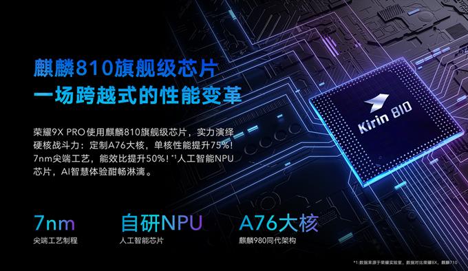 荣耀9X跟荣耀9X Pro配置信息汇总(长期更新)