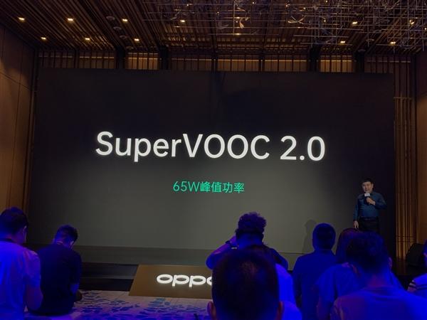 OPPO发布65瓦快充:4000mAh大电池30分钟充满 10月10日Reno Ace首发