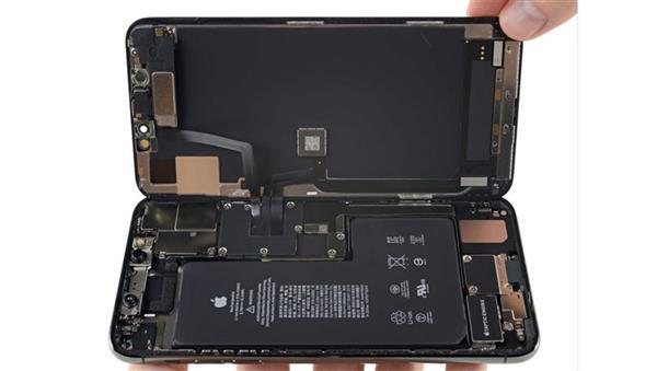 iFixit拆解iPhone 11 Pro Max:确认iPhone 11系列全系标配4G运行内存