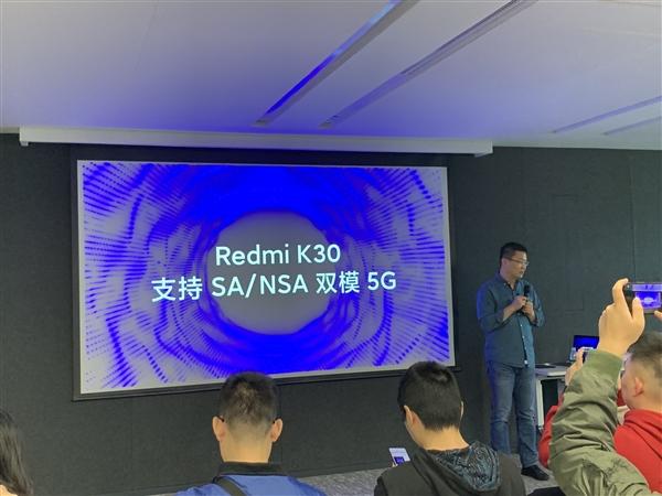 外媒TechDroider曝光红米K30真机图、前置挖孔双摄神似三星S10 +