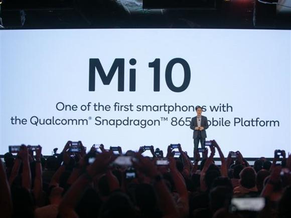 小米10将于明年第一季度发布、首发骁龙865处理器