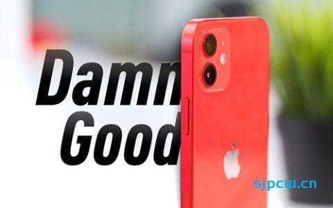「MKBHD双语」iPhone 12评测:刚好成真!