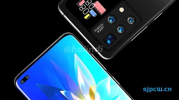 根据华为的专利,设计师绘制了华为双屏手机渲染图